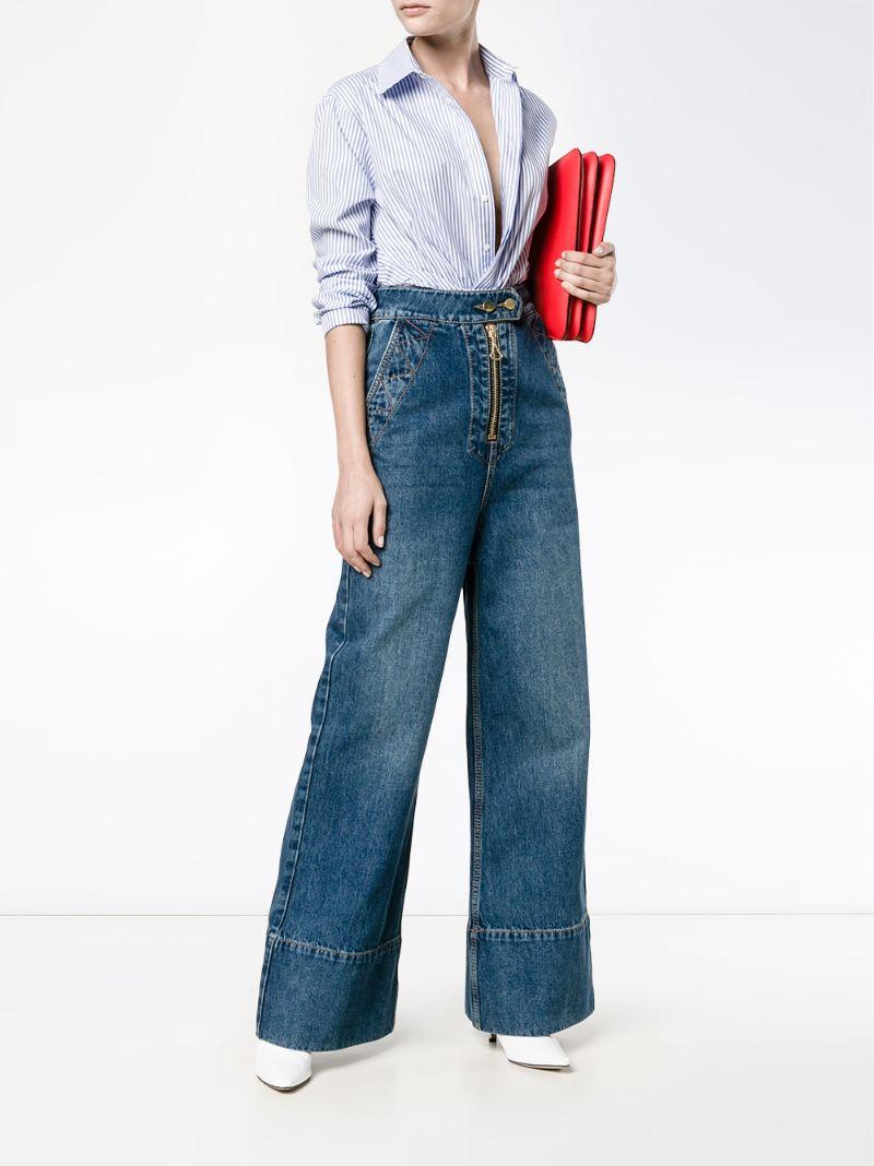 Wide leg jeans fashion 98