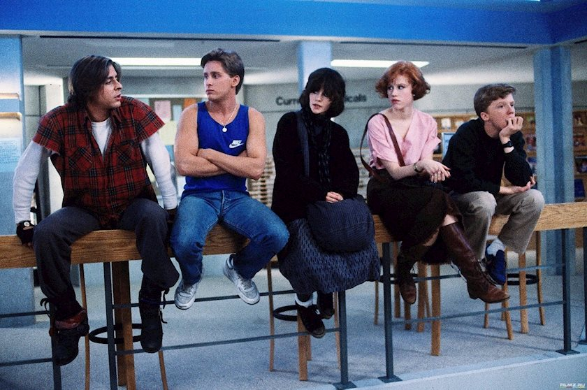 social identity in the breakfast club Yeah, you brought up some very thorough and developed ideas about the gender schemes in the breakfast club such as bender's outward aggression and his inner resentment for being weak.