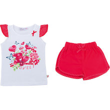 Sweet Berry | Комплект: футболка и шорты для девочки Sweet Berry | Clouty