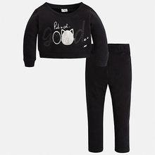 Mayoral | Комплект: блузка и леггинсы Mayoral для девочки | Clouty