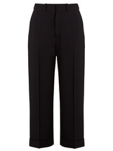 Chloé | Crepe pleated trousers | Clouty