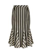 Altuzarra   Crocus striped wool-blend skirt   Clouty