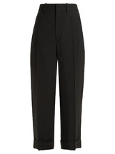 Chloé | Wide-leg cropped trousers | Clouty