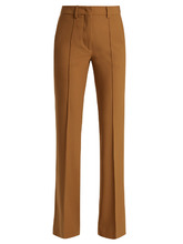 Etro | Veronica stretch-wool kick-flare trousers | Clouty