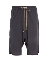 RICK OWENS | Dropped-crotch shell shorts | Clouty