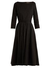 Bottega Veneta | Stud-embellished stretch-cotton dress | Clouty
