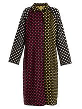 Duro Olowu   Reversible polka-dot intarsia-knit wool coat   Clouty