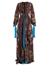 Etro | Scorpione silk crepe de Chine gown | Clouty