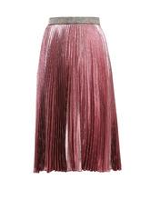 CHRISTOPHER KANE | Pleated silk-blend midi skirt | Clouty