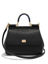 Dolce & Gabbana | Sicily medium dauphine-leather bag | Clouty