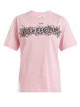 Off-White | Logo-print cotton T-shirt | Clouty