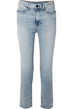 RAG & BONE | rag & bone - Cigarette High-rise Slim-leg Jeans - Light denim | Clouty