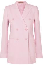 Bottega Veneta | Bottega Veneta - Grain De Poudre Wool Blazer - Pastel pink | Clouty