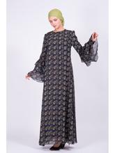 Bella Kareema   Платье двойное шифоновое   Clouty