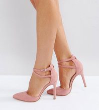 Truffle Collection | Туфли на каблуке для широкой стопы с бантиками Truffle Collection | Clouty