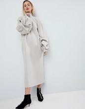 ASOS   Трикотажное оверсайз-платье ASOS WHITE - Мульти   Clouty