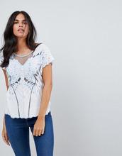Sugarhill Boutique | Топ с вышивкой Sugarhill Boutique - Белый | Clouty