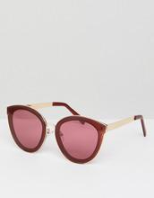 ASOS   Круглые солнцезащитные очки ASOS - Красный   Clouty