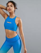 Onzie | Синий спортивный бюстгальтер Onzie Open Heart - Синий | Clouty