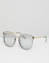 ASOS   Большие круглые солнцезащитные очки с дымчатыми стеклами ASOS - Серый   Clouty