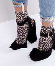 ASOS | Носки с леопардовым принтом ASOS - Мульти | Clouty