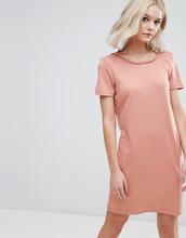 Vila | Трикотажное цельнокройное платье Vila - Розовый | Clouty