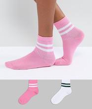 ASOS | Набор из 2 пар носков ASOS - Мульти | Clouty