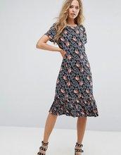Vila | Платье с принтом Vila - Черный | Clouty