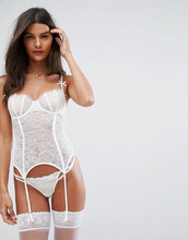 ASOS | Корсет на косточках ASOS BRIDAL Rosie - Белый | Clouty
