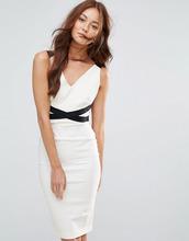 Vesper | Монохромное платье-футляр миди Vesper - Мульти | Clouty