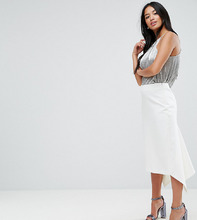 ASOS | Юбка-карандаш ASOS PETITE Tailored - Белый | Clouty