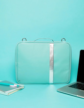 TYPO   Бирюзовая сумка для ноутбука Typo - Мульти   Clouty