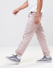 ASOS   Розовые прямые чиносы ASOS - Розовый   Clouty