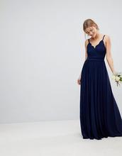 ASOS | Платье макси на бретелях с кружевной вставкой ASOS WEDDING | Clouty