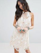 Free People | Кружевное платье для вечеринок Free People - Белый | Clouty