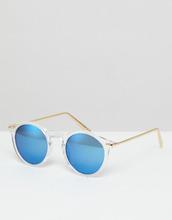 ASOS   Круглые солнцезащитные очки с металлическими дужками и зеркальными сте   Clouty
