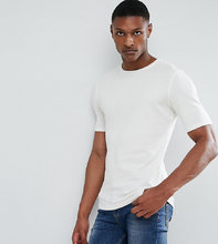 Selected Homme | Трикотажная футболка из органического хлопка Selected Homme TALL | Clouty