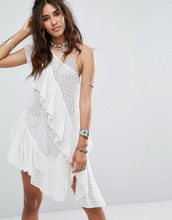 Free People | Туника Free People Girls Girls Girls - Белый | Clouty