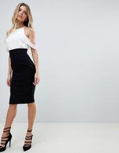 Vesper | Платье-футляр с открытыми плечами Vesper - Мульти | Clouty