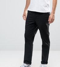 ASOS   Черные чиносы с прямыми штанинами ASOS TALL - Черный   Clouty