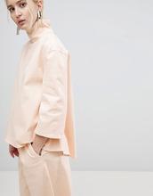 ASOS   Комбинируемый джинсовый топ ASOS WHITE - Кремовый   Clouty