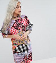 Jaded London | Свободное платье-футболка с принтом Jaded London - Мульти | Clouty
