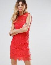 Free People | Кружевное облегающее платье Free People - Розовый | Clouty