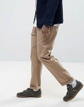 ASOS   Прямые брюки чиносы ASOS - Светло-бежевый   Clouty