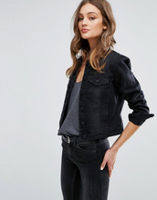 VERO MODA   Джинсовая куртка Vero Moda - Черный   Clouty