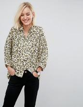 ASOS   Оверсайз-рубашка с абстрактным принтом ASOS - Мульти   Clouty
