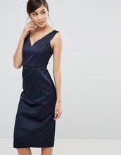 Coast | Платье с вырезом Coast Leticia - Темно-синий | Clouty