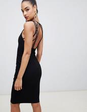 Vesper | Платье миди Vesper - Черный | Clouty