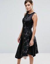 Coast | Асимметричное платье со вставками Coast Wendal - Мульти | Clouty
