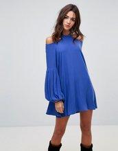 Free People | Платье с круглым вырезом Free People - Синий | Clouty